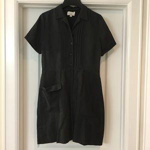 Billy Reid Charcoal Shirtdress